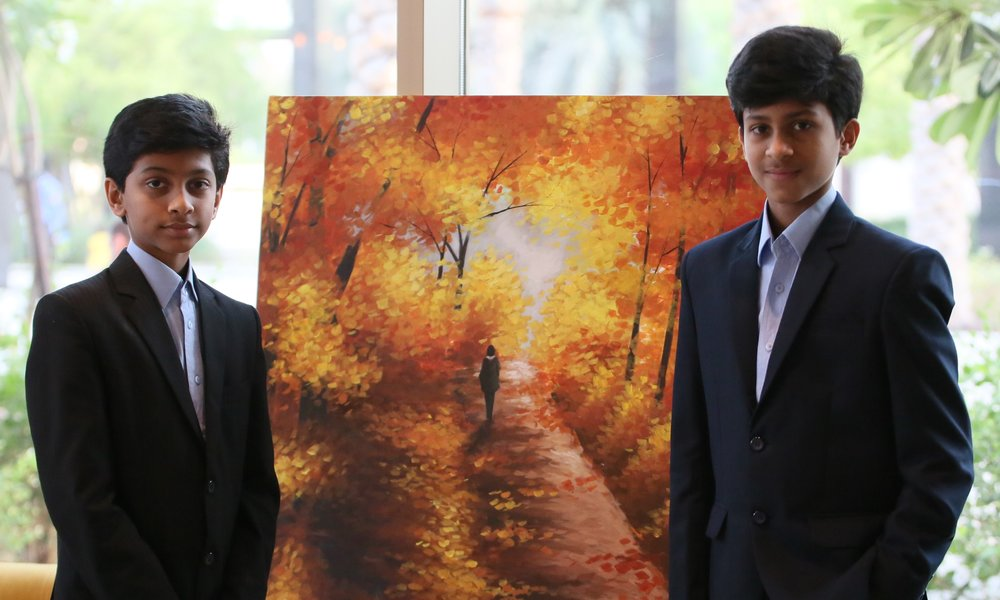 Rahul and Rohan Raju