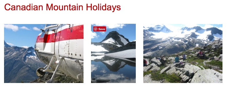 Canadian Mountain Holidays Client Adventures