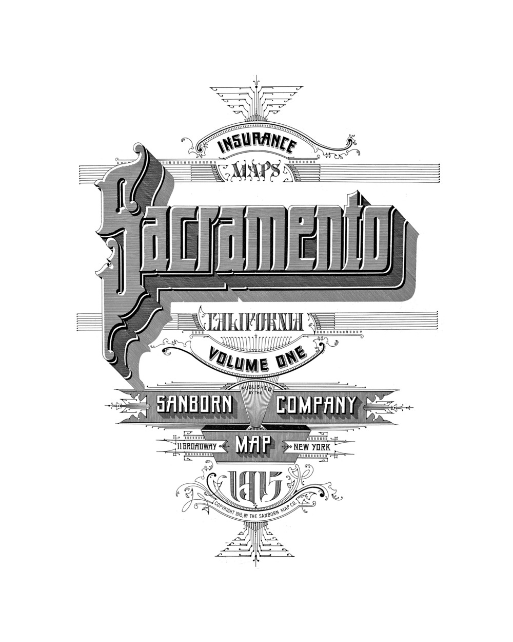 Sacramento 1915 — Anchor Editions on