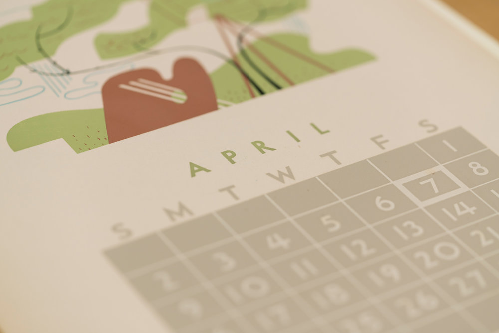 Original Calendar: April