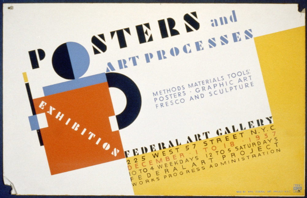 Richard Floethe, NYC Federal Art Project, 1937