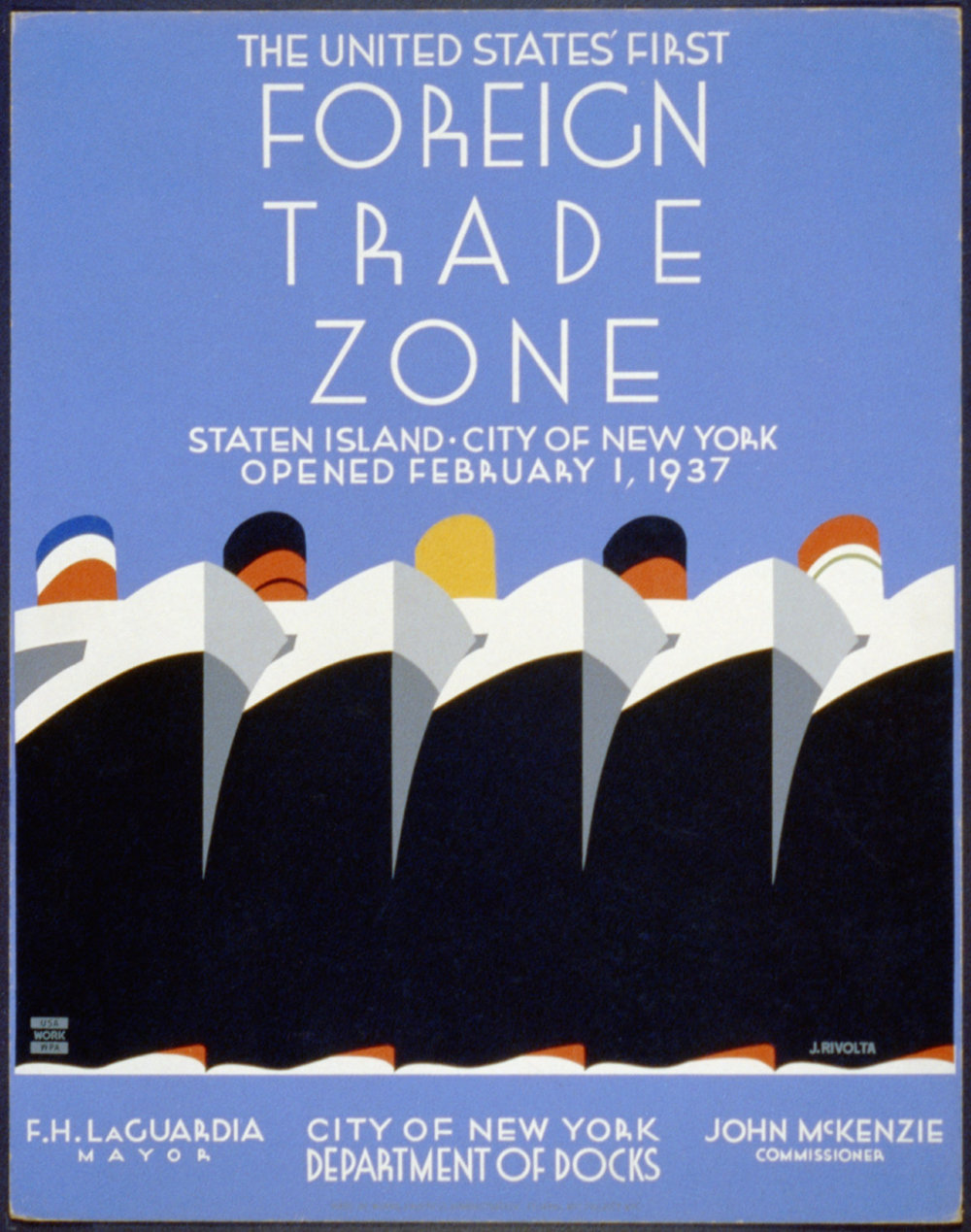 Jack Rivolta, NYC Poster Division, 1937