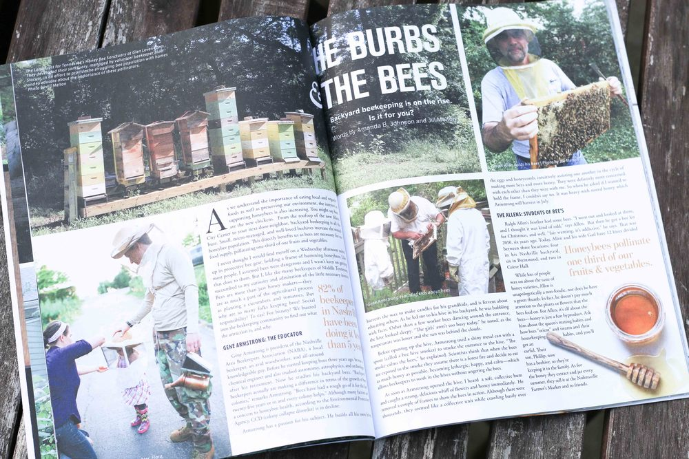 Nashville Writer and Editor Amanda B. Johnson - featured story in Edible Nashville Magazine
