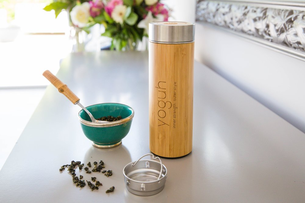 Bamboo insulated bottle - £32.50