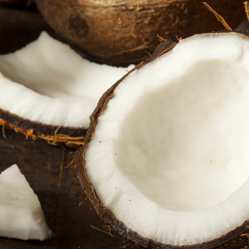 The Power of The Coconut - Fractionated coconut oil is an odorless, lightweight, all-natural preservative and bonder allowing The Spray's essential oil blends to maintain their potency and beneficial properties.This water-like medium chain triglyceride mixed with distilled North American witch hazel creates the perfect alcohol-free fragrance base.