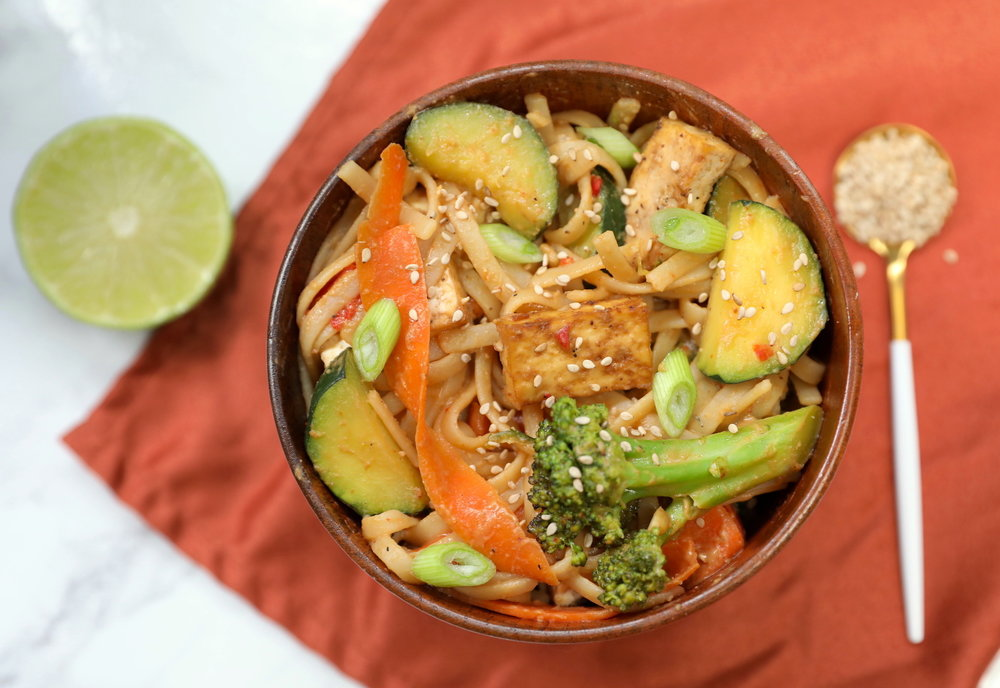 Tofu & Vegetable Pad Thai