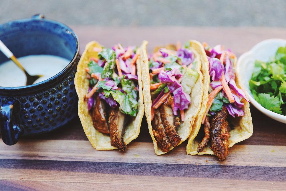 Tandoori Portobello Tacos