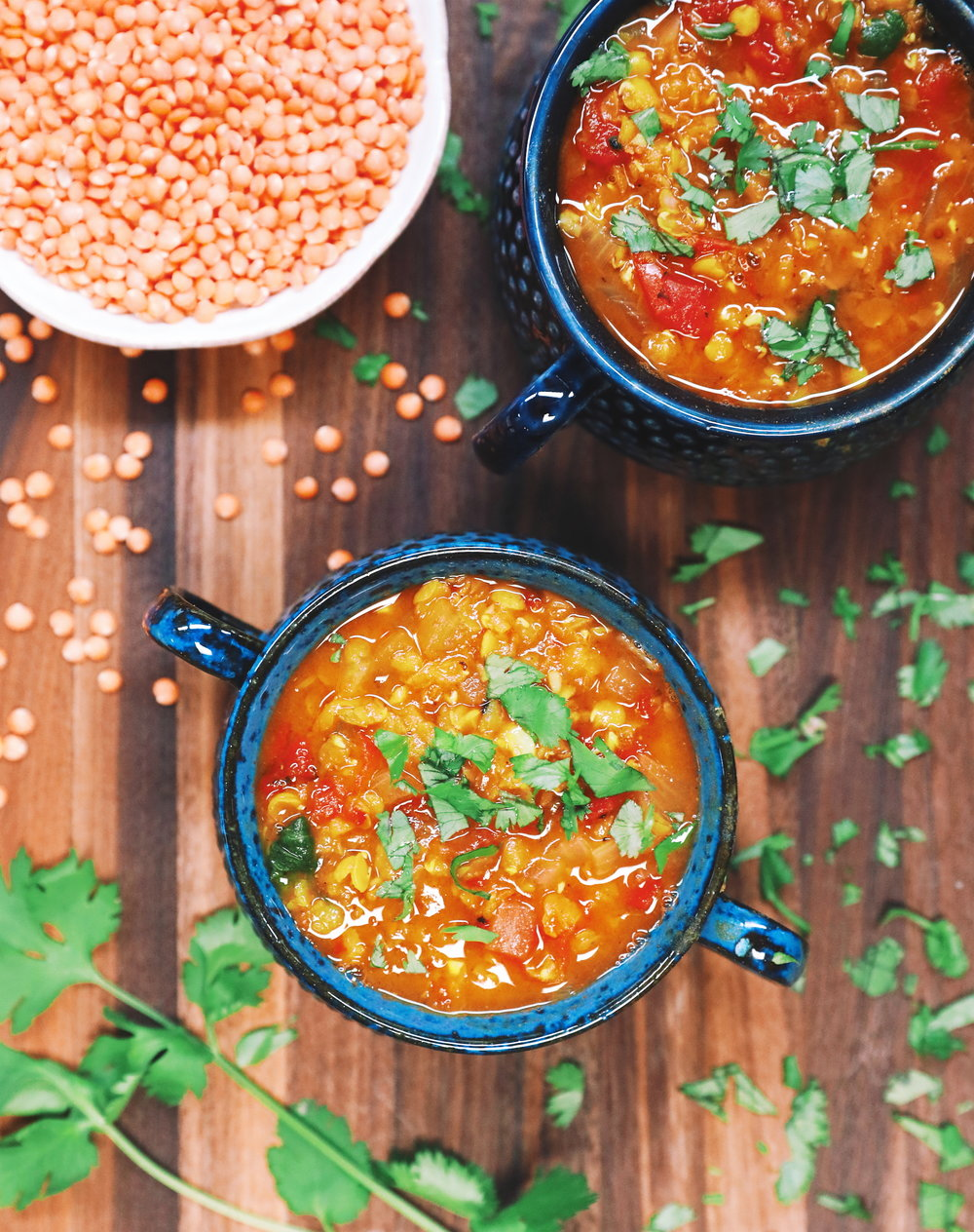 One-Pot Red Lentil Dal