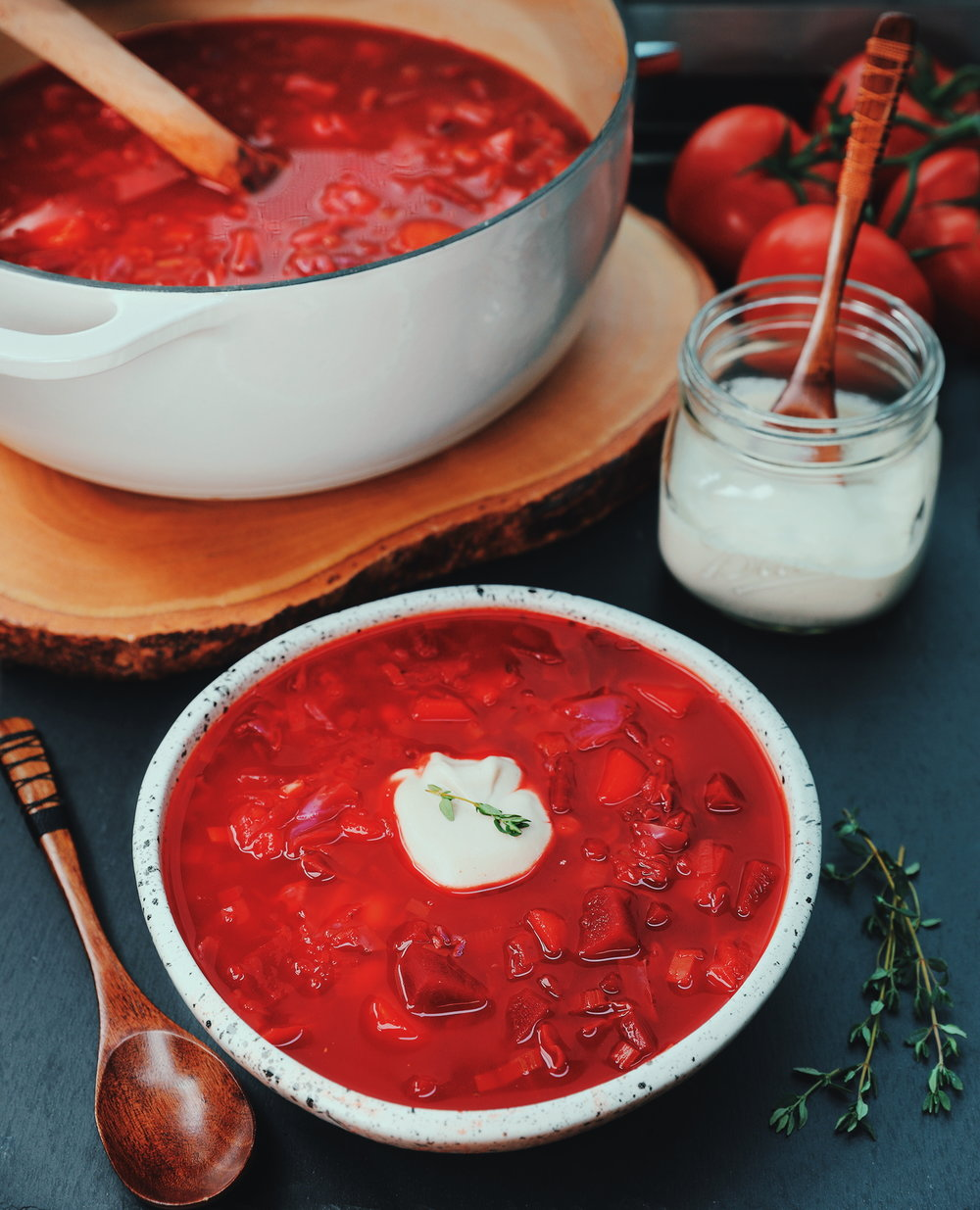 Balsamic Beet Soup