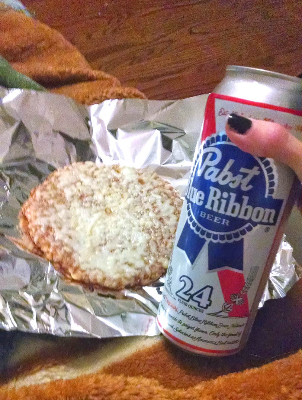"My ""Dinner"" in 2013- It's been almost 4 years now since I last had alcohol and 3 years cheese-free"