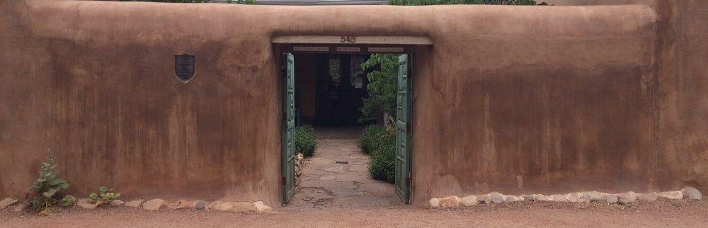 El Zaguan Entrance
