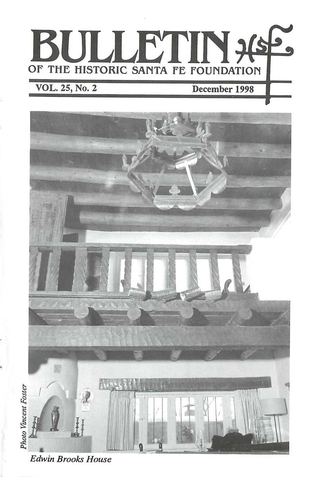 1998 HSFF Bulletin Vol.25 No.2 Cover