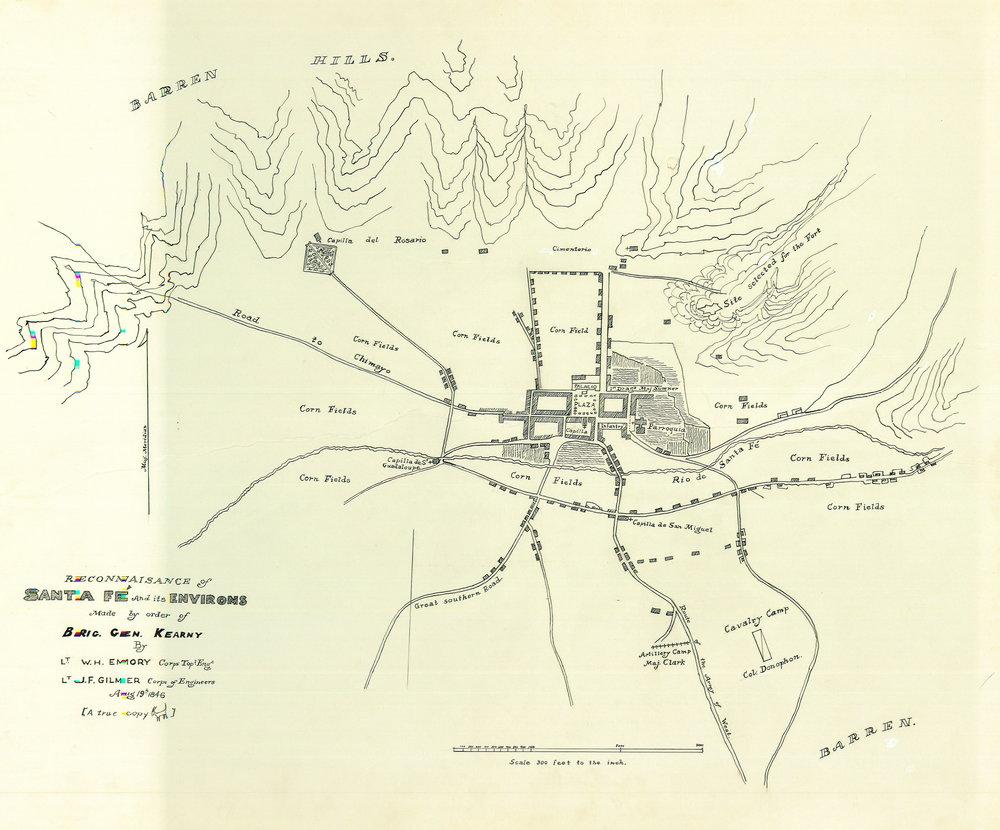 Maps Historic Santa Fe Foundation