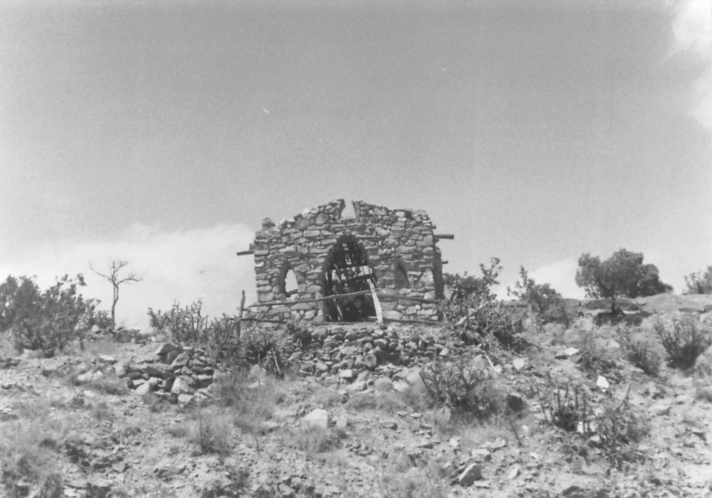 La Capilla de San Ysidro Labrodor (Chapel of San Ysidro, the Plowman, Lopez Chapel), Cerro Gordo