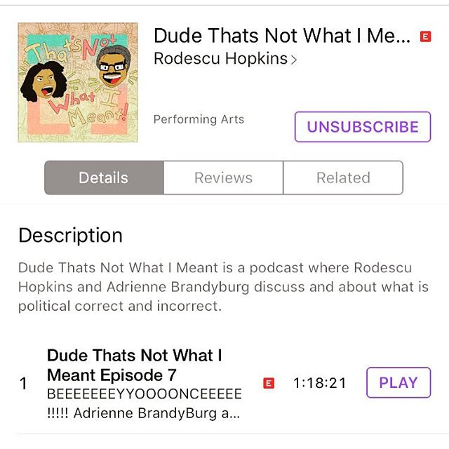 Only 7 episodes deep and we already have broken 500 downloads!!!!! if you haven't subscribed or even just download this podcast now is the time. It's free and it's on iTunes. Thanks to everyone that has already check it out!!! More episodes coming this week