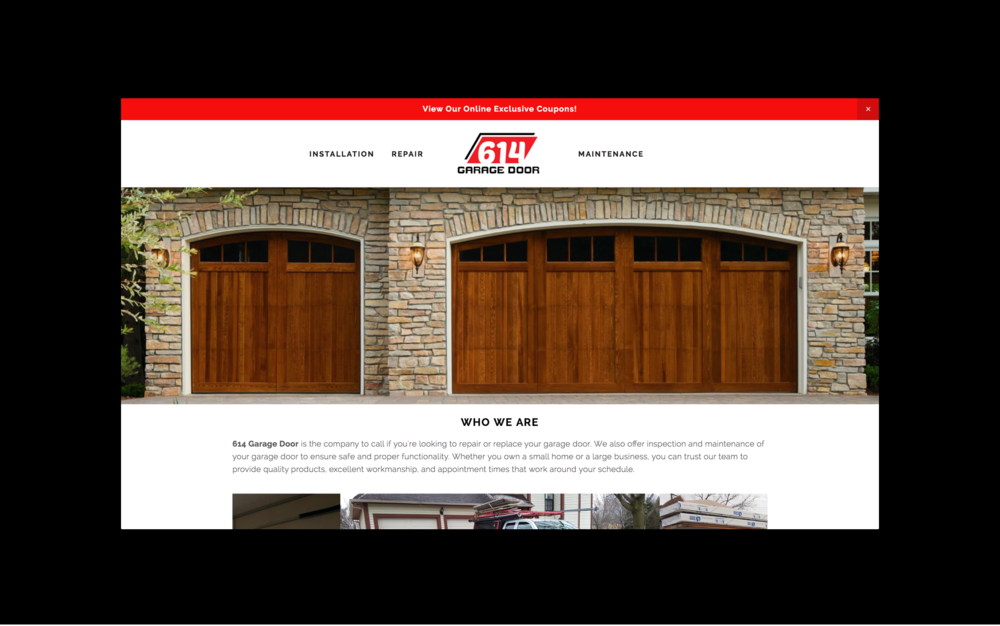614 Garage Door Is A Local Small Business Based In Columbus, Ohio. Owned  And Operated By Chris Cerni They Specialize In Installation And Replacement  Of ...