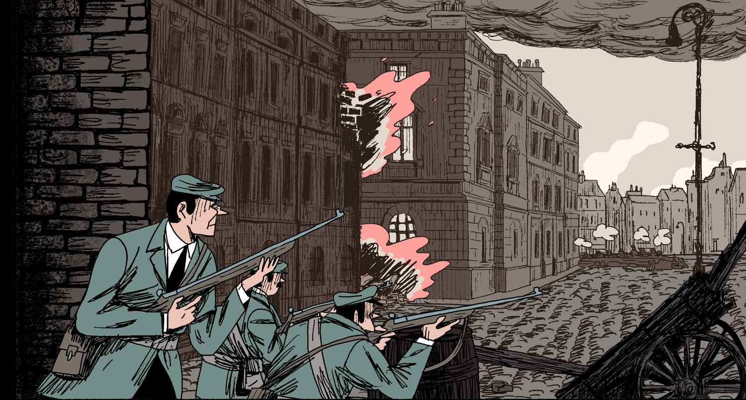 Ireland 1912 1916 An Animated History From Home Rule To Easter Rising