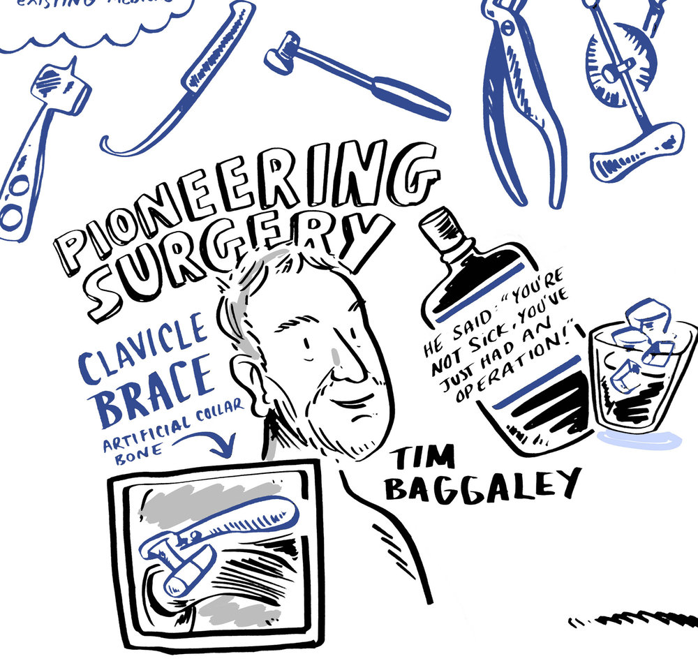 Scribing the highlights of Professor Angus Wallace's extraordinary career | Scriberia