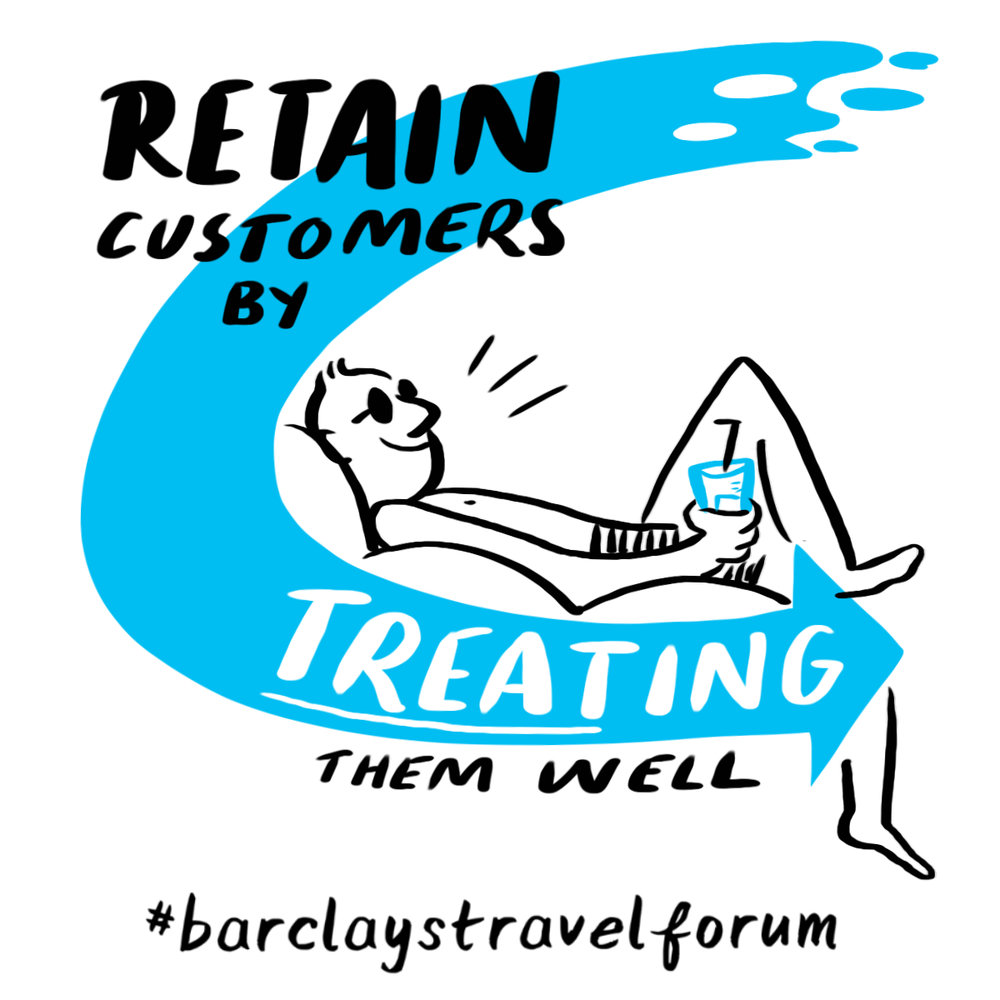 Digital scribing from the Barclays Travel Forum | Scriberia