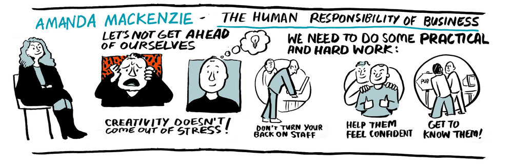 Scribing from The Future of Work is Human, Jericho Chambers | Scriberia