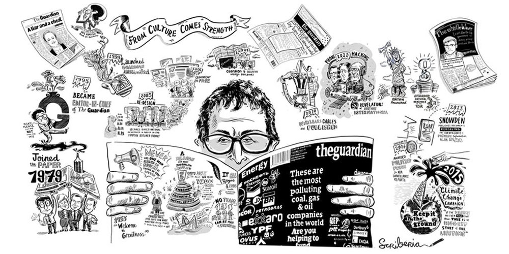 scriberia guardian alan rusbridger
