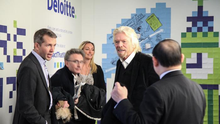 Scriberia scribing Deloitte World Economic Forum