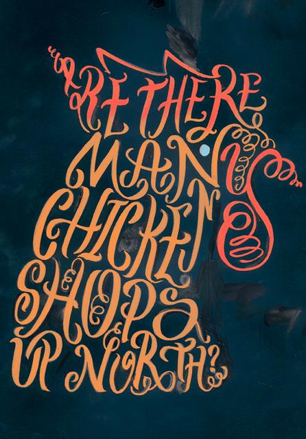 scriberia masters of typography Oli Frape
