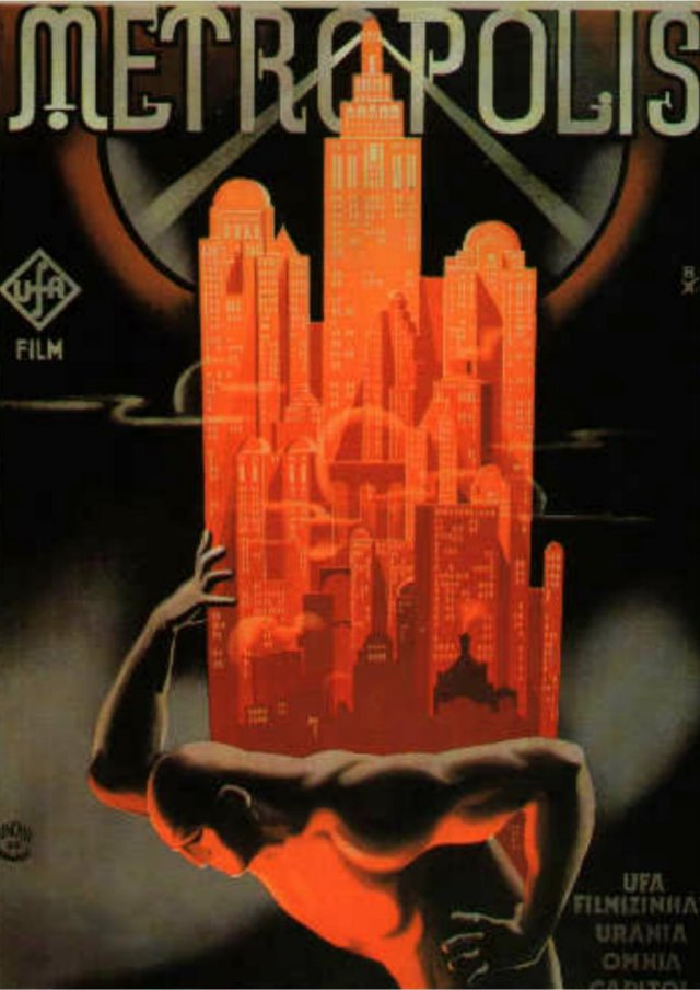 Scriberia Alternative Film Posters Bottlik Metropolis