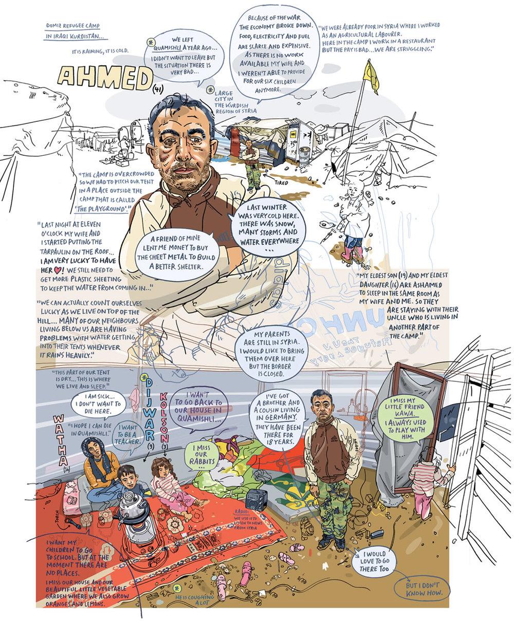 Scriberia Reportage Illustrators Oliver Kugler