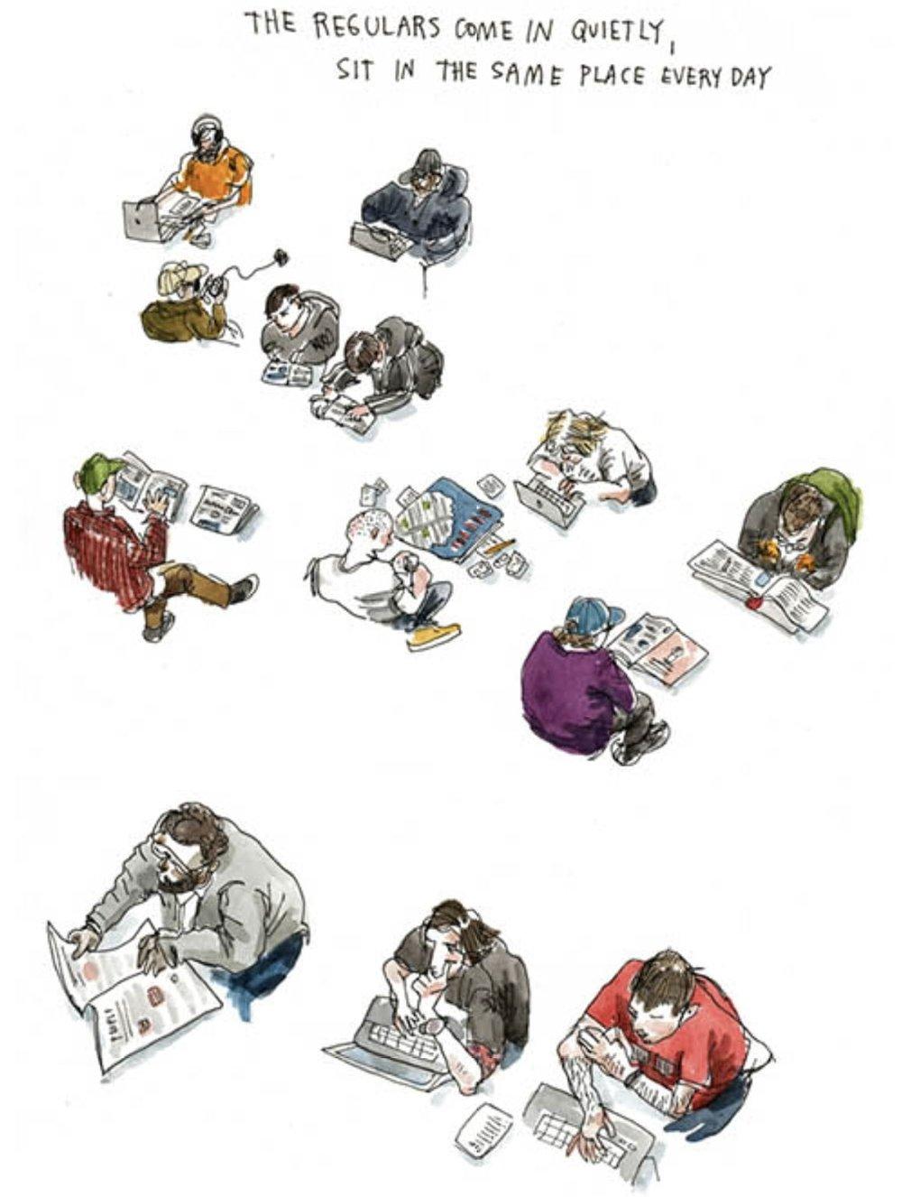Scriberia Reportage Illustrators Wendy MacNaughton