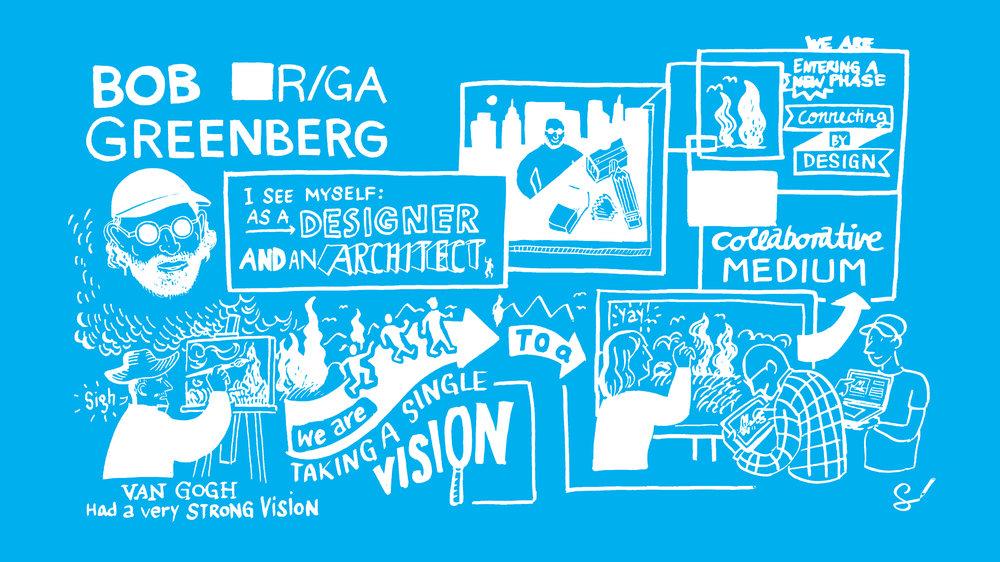 Scriberia Cannes Lions School Scribing Bob Greenberg R/GA