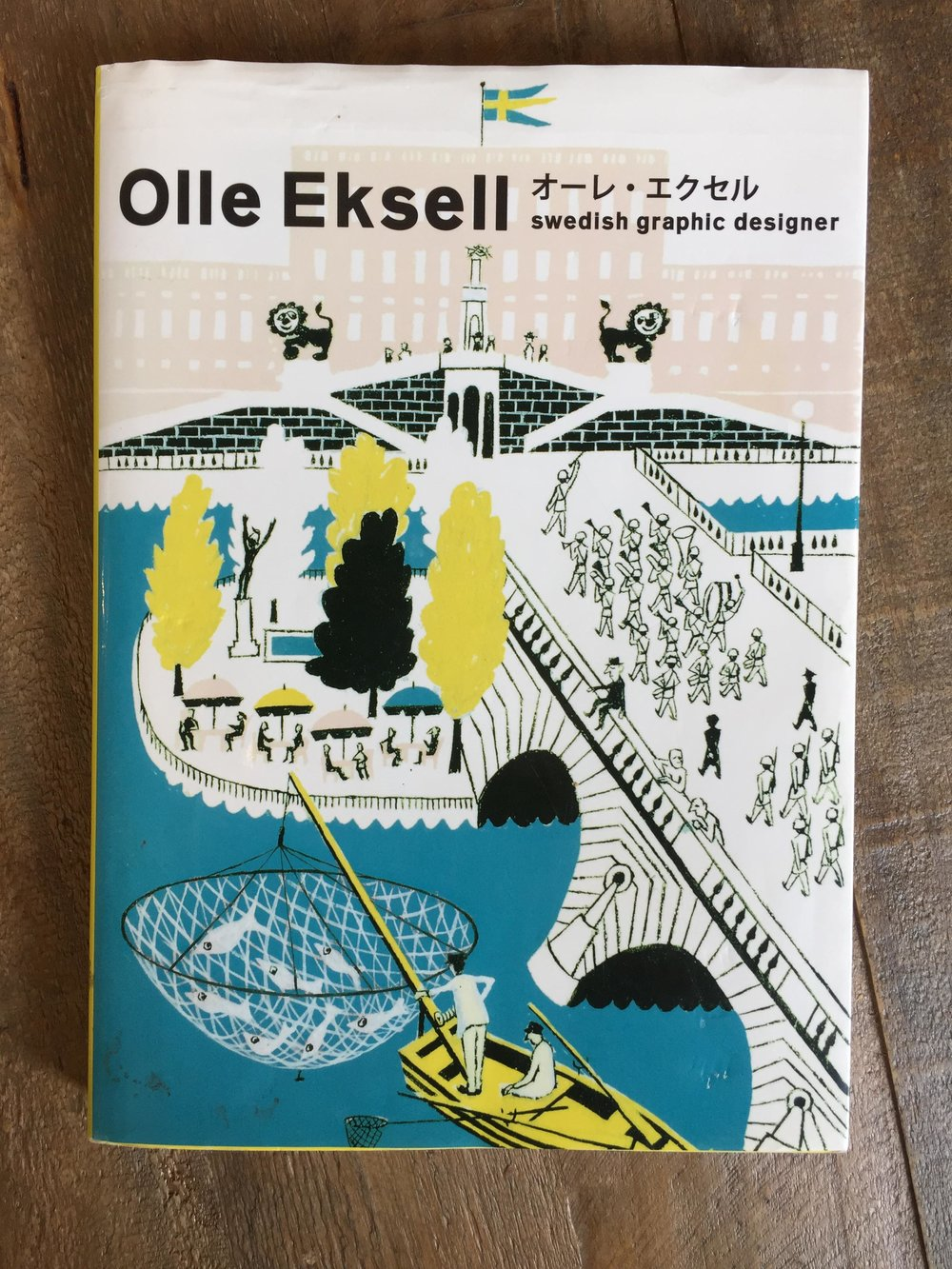 Scriberia Top Five Books for Creative Block Olle Eksell Swedish Graphic Designer Pie Books