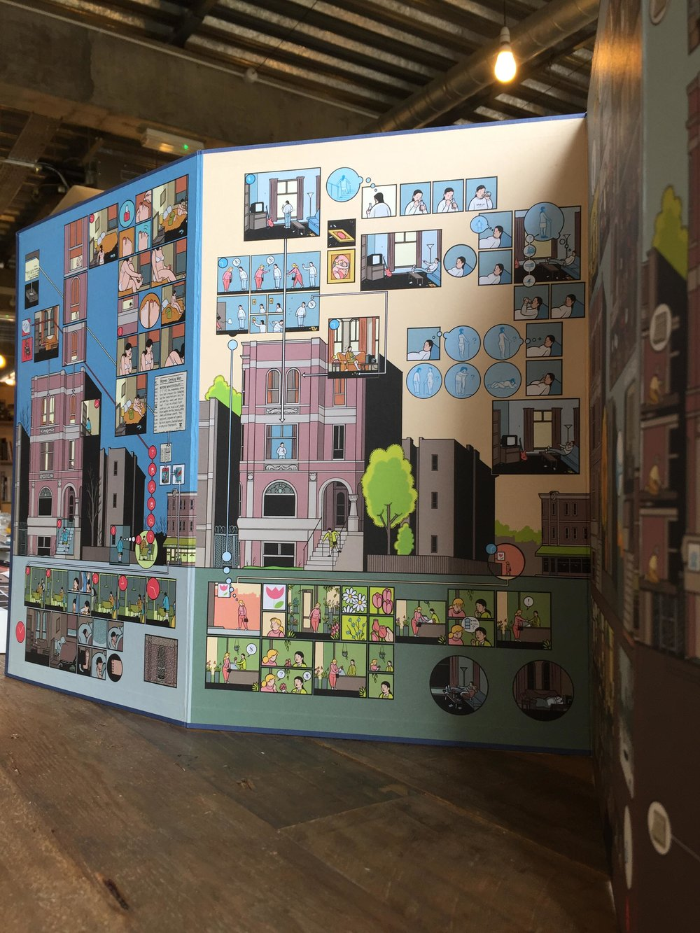 Scriberia Top Five Books for Creative Block Chris Ware Building Stories