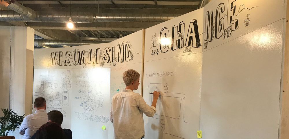 Scribing is a mirror   - Deborah Fleming, Chameleon Works