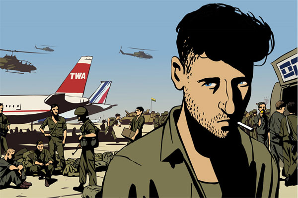 Scriberia Top Five Animated Documentaries Animation Waltz With Bashir