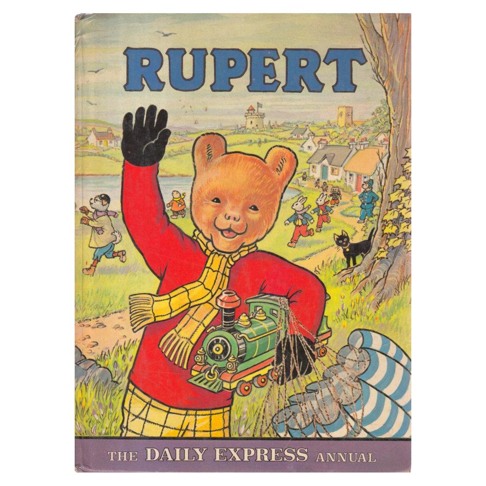 Scriberia top five Christmas annuals Rupert