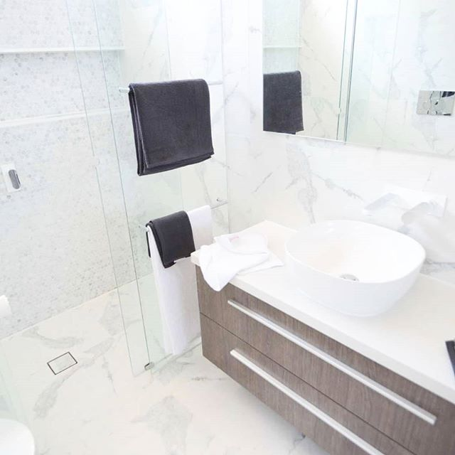 Marble #bathroom