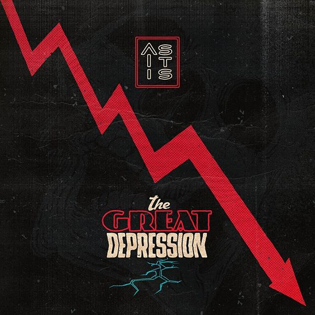 Well holy shit @asitisofficial have 100% come up with the album of the year so far!  This album is an absolute belter and seriously what are you waiting for go listen to it RIGHT NOW!!! Review coming later in the week!  #asitis #asitisband #thegreatdepression #NewMusicFriday #newmusic #newmusicalert🚨 #newmusic2018 #newmusic #rock #emo #hardrock #newalbum #albumoftheyear #NewMusicAlert #newmusic