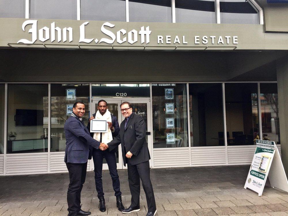 Kirk Russell, Beshir Abdella, And Jim John L Scott Realtors