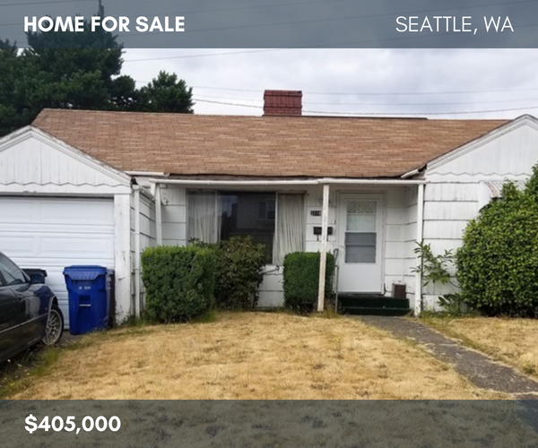 Seattle Home For Sale MLS# 1332499 | JLS# 91703