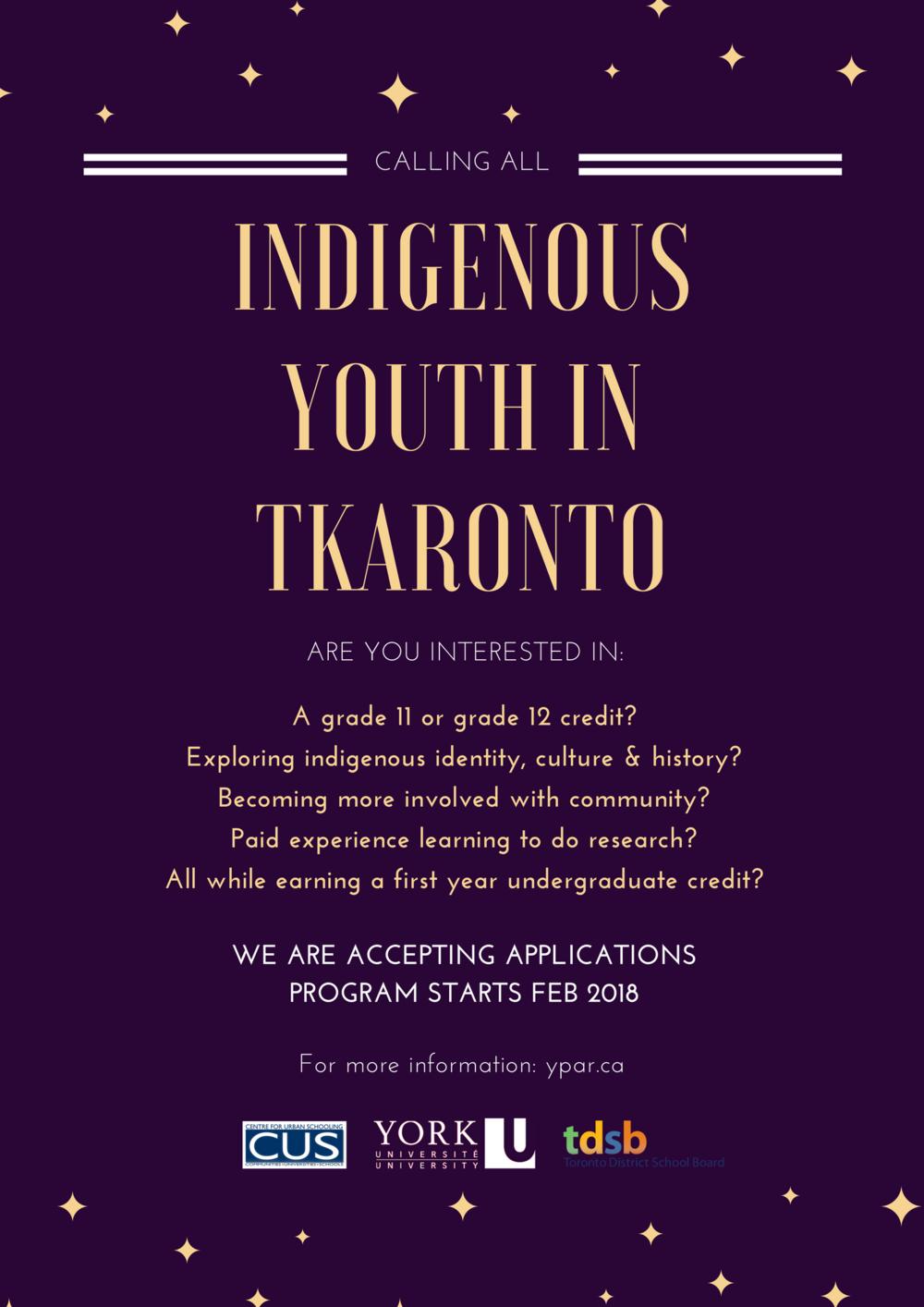 Indigenous yPAR poster.png