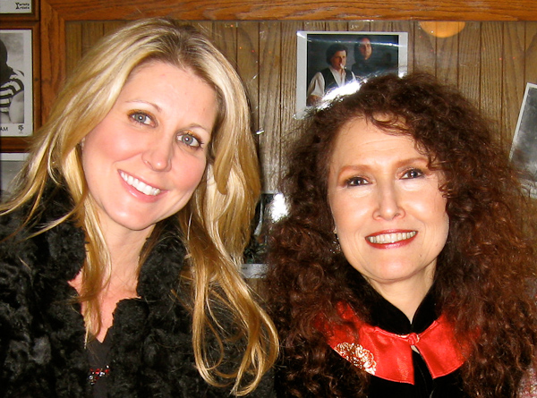 Brooke opened for Melissa Manchester at The Coach House