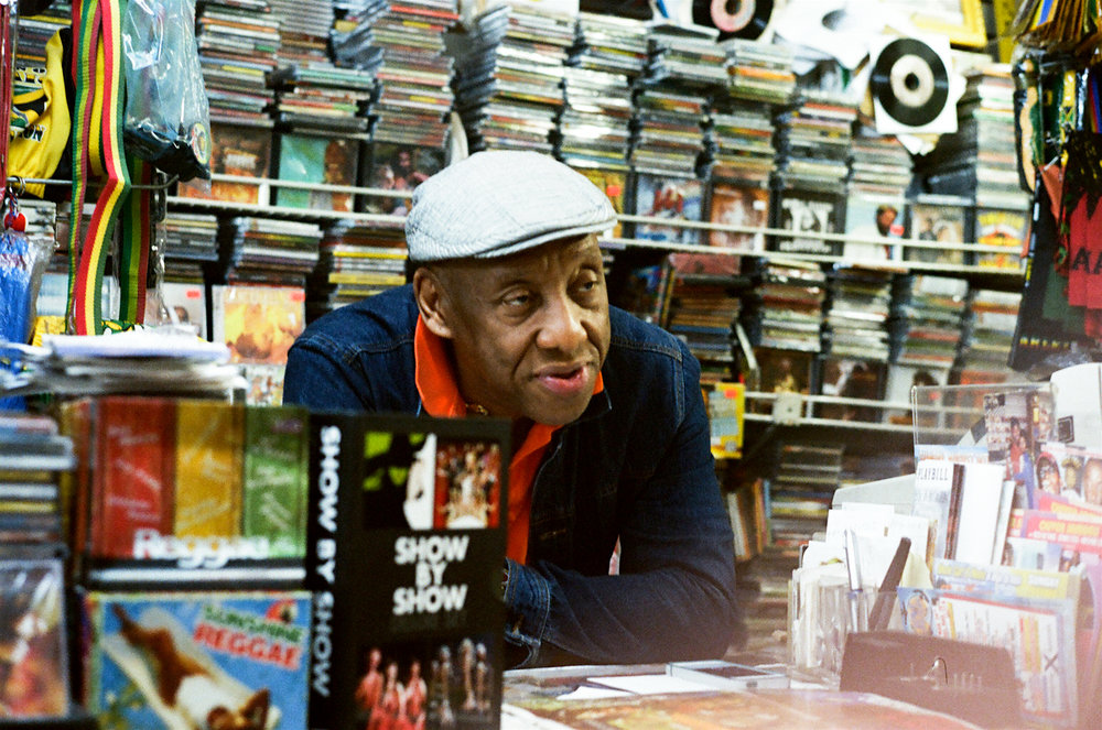 Weekend at Moodies - Read about Dj Buddy + Brujo Boogies quest for delicious vinyl + soul food at the legendary Moodie's Records located in the Northern section of the Bronx where Jamaican and Caribbean culture thrive.