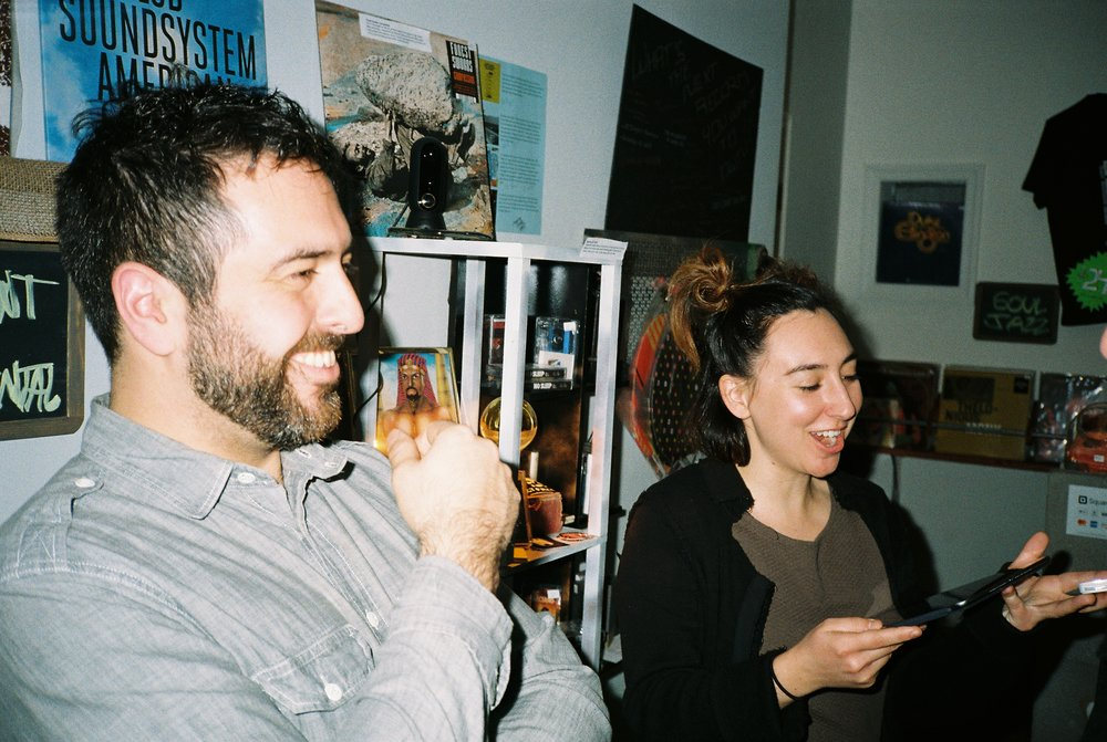 Cinderblock Mentality - With everything readily available at our digital fingertips these days, Emily and Pat of the newly-opened Cinderblock Peoplerecord shop in Harlem, swim against the current to offer analog alternatives.READ MORE >>>>