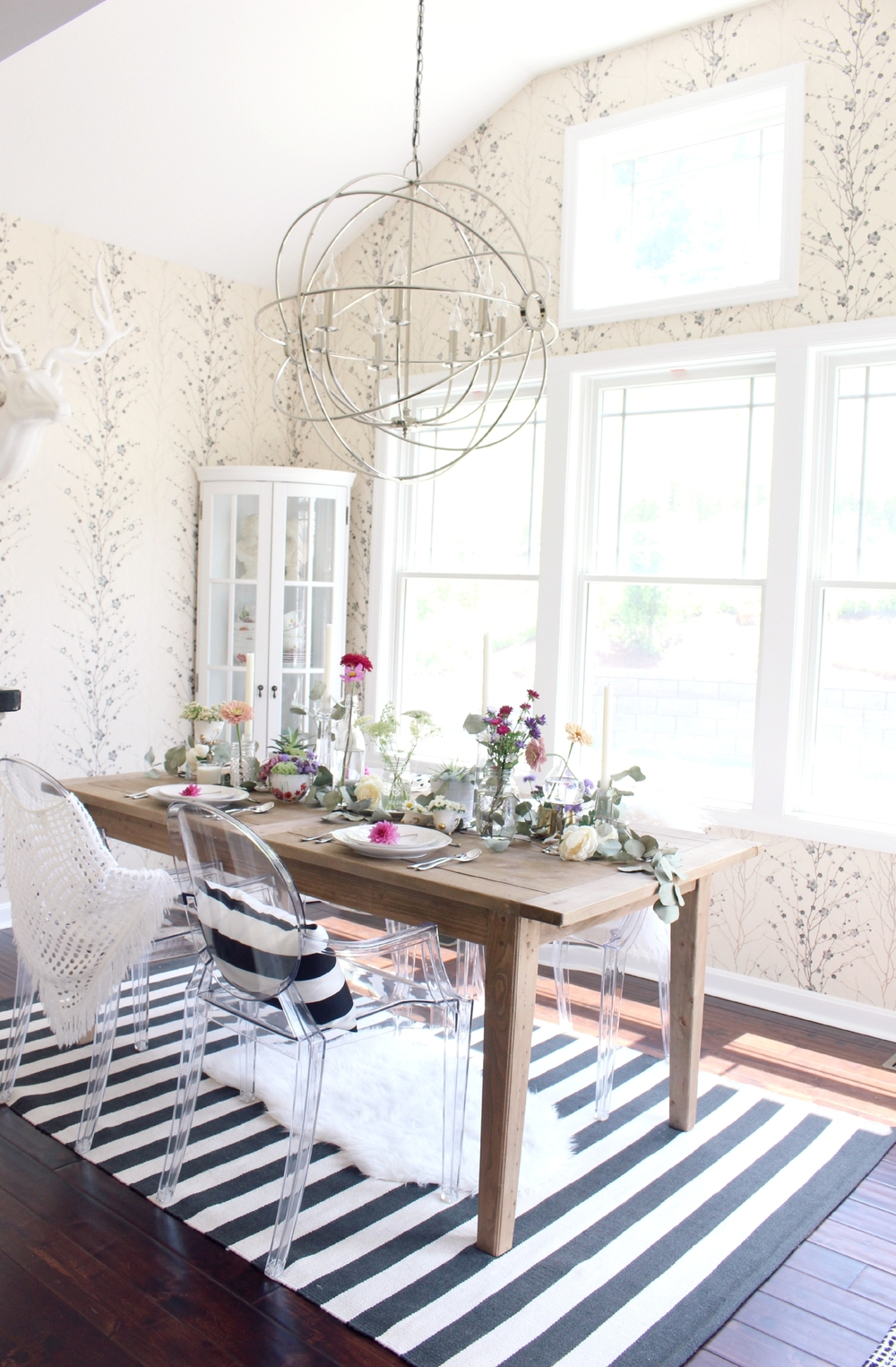 Chic Boho Dining Room from Zoë with Love