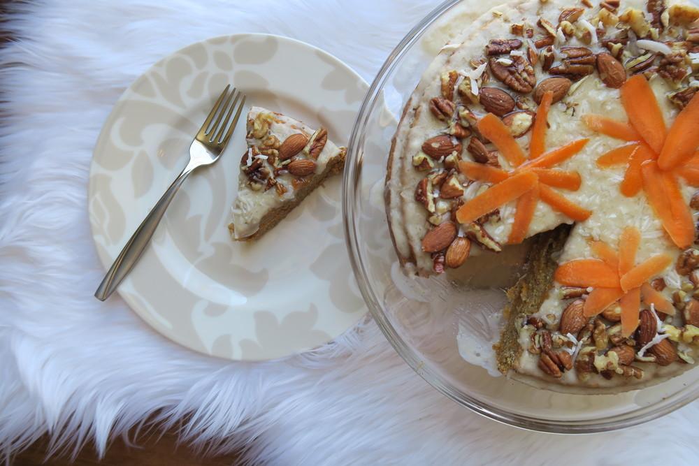 Holl & Lane Magazine // Recipe: Vegan Carrot Cake