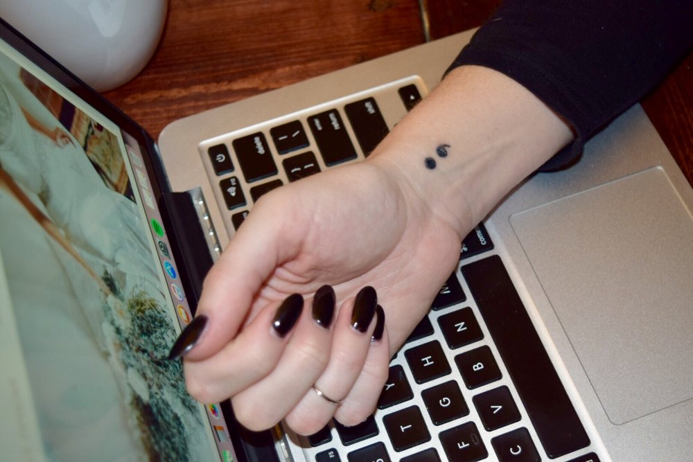 My Relationship to The Semicolon Project