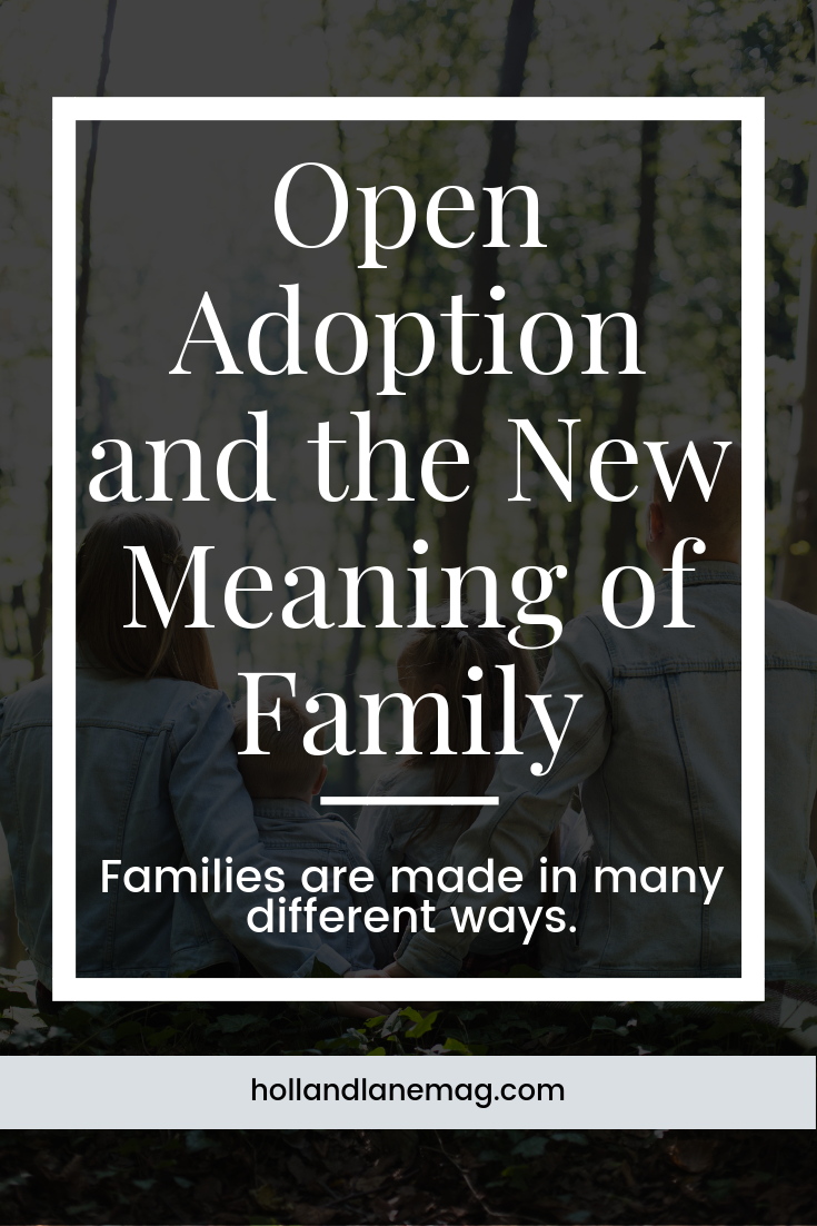 We have a close relationship with our son's birth parents. Family has a whole new meaning when it comes to open adoption. Click to read more at hollandlanemag.com