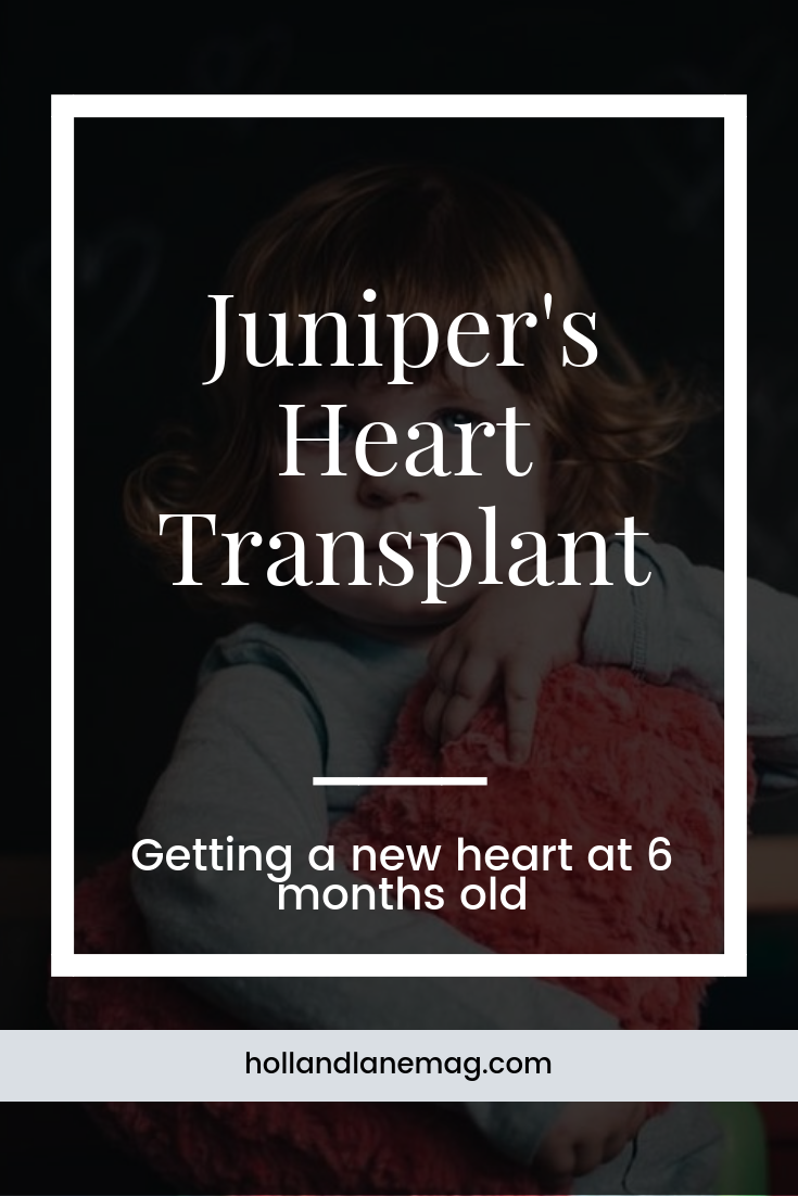 How could we be impatient when we knew another family would be going through our greatest fear in order for our daughter to live? I often thought about the donor's mother, it broke my heart to think about the parents that would be on the other side of this heart transplant. Click to read more from Holl & Lane Magazine at hollandlanemag.com