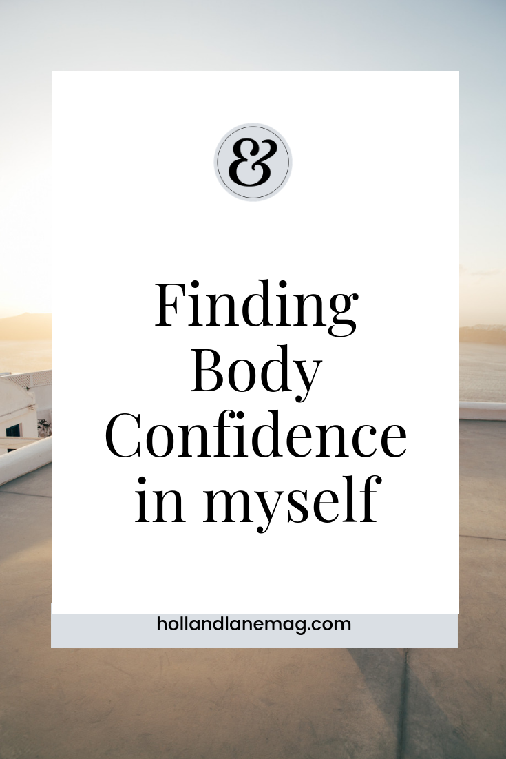 I used to re-touch my body and skin in photos before posting online. Click to read more from Holl & Lane Magazine at hollandlanemag.com